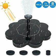 Hearthrousy Solar Teichpumpe 1.6W Solar