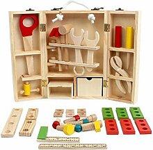 Hearthrousy Werkzeugset Kinder Holz Werkzeug
