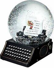 Heaven Sends Christmas-Schneekugel, Buchstabe an