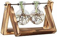 Heaviesk Vase für den Schreibtisch aus Glas,