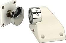Heavy Duty elektromagnetischen Bodenmontage Türstopper Halter 50kg Kraft DC12/24V Access Control