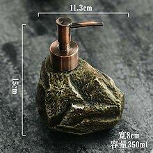 HebaiDIY Kreative Keramik Vintage Stein Shampoo