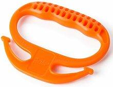 Heben Neapel mobile Ergonomie und Leistung ziehen die Aufmerksamkeit der Eigenschaft ist auf Kurs zu Tasche Werkzeuge zu leicht in die Tasche zu sammeln, Orange
