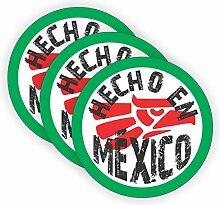 HECHO EN MEXICO Hard Hat Aufkleber/Decal / Mexican