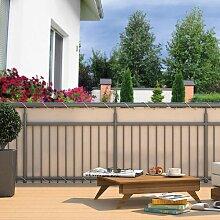 Hecht Balkon-Sichtschutz Polyester