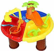 Hedear Kinder Sand und Wassertisch Spielset Graben