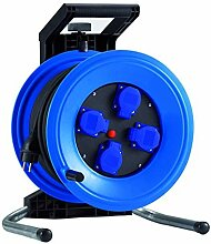 HEDI Kabeltrommel, 1 Stück, blau / schwarz, K350NTFE