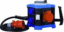 HEDI Mobiler Steckdosenverteiler, 1 Stück, blau, KVM402016Z
