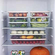 Heenirg Kühlschrank-Aufbewahrungsbox, 3 Sätze