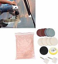 HEEPDD Glas polier Set, Kratzerentfernung Set mit