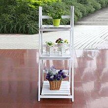 Hehilark Klappbar Blumenständer Pflanztreppe