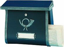 Heibi Briefkasten Multi, in schwarz/antik