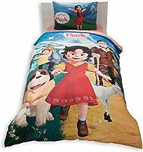 Heidi Lizenzprodukt Bettbezug-Set, 100% Baumwolle