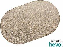 Heilbronn gold 001 HEVO® Teppich | Kinderteppich | Spielteppich 200x280 cm Oval