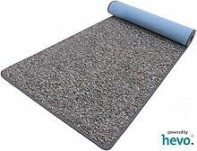 Heilbronn grau 006 HEVO® Teppich | Kinderteppich | Spielteppich 067x400 cm