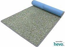 Heilbronn grün 002 HEVO® Teppich | Kinderteppich | Spielteppich 080x400 cm