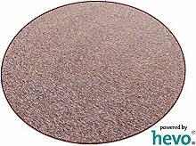 Heilbronn rot 003 HEVO® Teppich | Kinderteppich | Spielteppich 200 cm Ø Rund