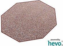 Heilbronn rot 003 HEVO® Teppich | Kinderteppich | Spielteppich 200 cm Achteck
