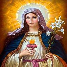 Heilige Maria Diamant Malerei 5D DIY Voll Bohren
