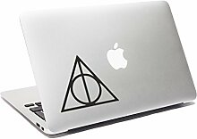 Heiligtümer des Todes Laptop Aufkleber Harry Potter MacBook Aufkleber Auto Aufkleber Fenster Aufkleber