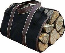Heim-Dekoration, Aufbewahrungstasche aus Brennholz