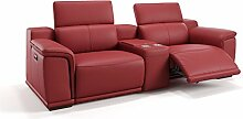 Heim Kinosofa Leder Sofagarnitur Relaxsofa Couch