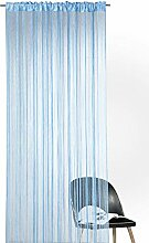 heimtexland ® Fadengardine in blau HxB 245x148 cm