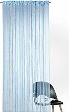 heimtexland ® Fadengardine in blau HxB 245x95 cm
