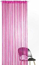 heimtexland ® Fadengardine in pink HxB 160x148 cm