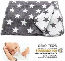 heimtexland SUPER Soft Baby Kuscheldecke Sterne in