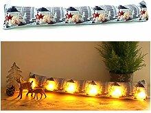 heimtexland ® Zugluftstopper mit LED Beleuchtung