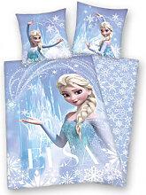 Heimtextilien - Bettwäsche Microfaser Die Eiskönigin Elsa