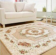Heimtextilien, Europäische Einfache moderne Schlafzimmer Teppich, Wohnzimmer Couchtisch Sofa großen Teppich, Bettdecke ( größe : 130*190cm )