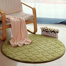 Heimtextilien Runde Teppiche Full Shop Moderne Minimalist Couchtisch Sofa Korb Große Teppich Schlafzimmer BlanketComputer Stuhl Matten ( Farbe : #8 , größe : 60*60cm )