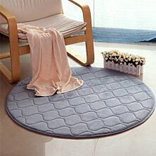 Heimtextilien Runde Teppiche Full Shop Moderne Minimalist Couchtisch Sofa Korb Große Teppich Schlafzimmer BlanketComputer Stuhl Matten ( Farbe : #6 , größe : 100*100cm )