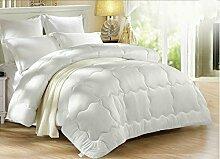 Heimtextilien Stricken zehn Löcher Eindickung Winter-Quilt Eindickung warme Winter Quilt Bett Auskleidungen Halten
