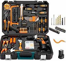 Heimwerker-Kit mit den meisten Werkzeugen für