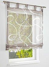 heine home modernes Raffrollo mit geometrischem