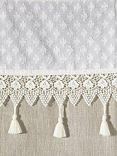 heine home Vorhang 145 cm, Bindebänder, 130 cm