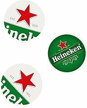 Heineken Bierdeckel - stylische Untersetzer,