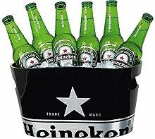 Heineken Eiskühler - einschaliger Eiskübel für
