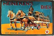 Heineken´s Bier Blechschild, 30 x 20 cm