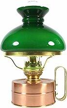 Heinze Petroleumlampe Galley Kupfer poliert, mit