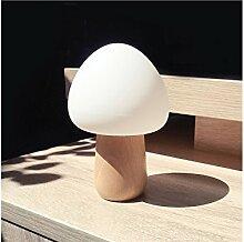 HeiPlaine 3D Tischleuchte Pilz Nachtlichter für