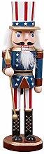 HEIRAO Nussknacker Soldaten Puppen Holz