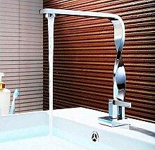 Heiß- und Kaltwasserhahn Waschbeckenmischer