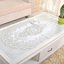 Heißen Couchtisch Pad/European-style Tischdecken/Öl-waschen-beweis-tischdecke/PVC Tischdecke/Stoff Tischdecke Tisch-D 60x100cm(24x39inch)