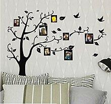 Heißer Bilderrahmen Familie Baum Wandaufkleber