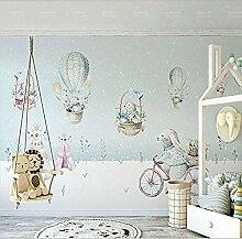 Heißluftballon Kinderzimmer Tapete Junge Zimmer
