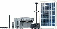 Heissner Solar-Pumpen-Set 750 l/h inkl. LED, 2